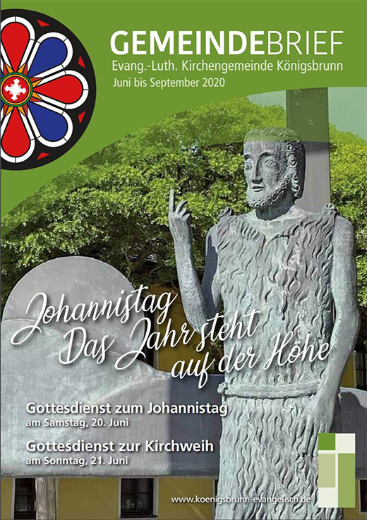 Gemeindebrief Juni bis September 2020